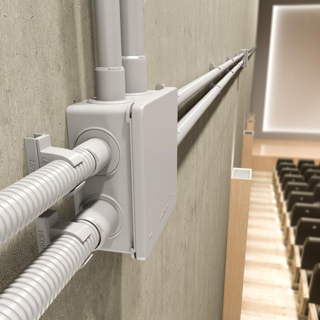 CONDUR HF halogen free rigid conduit