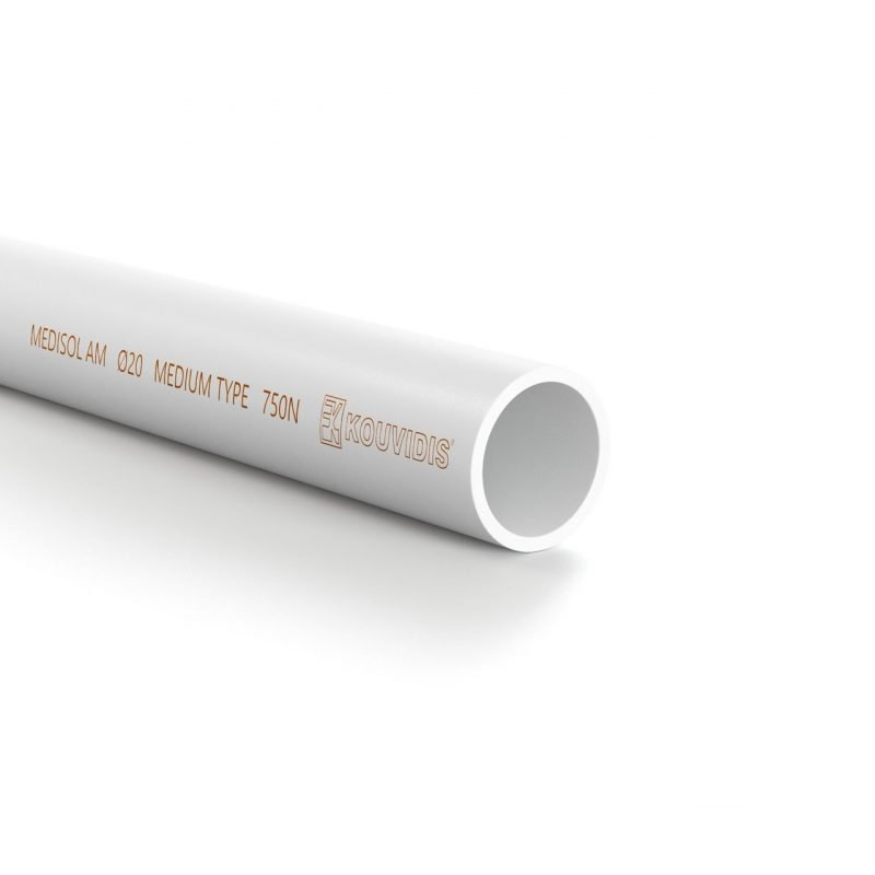 MEDISOL AM tubo rígido com tecnologia antimicrobiana