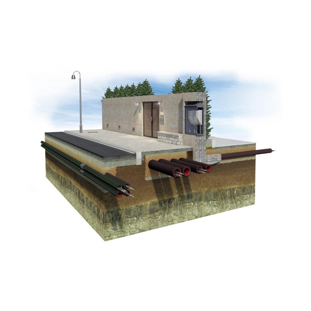 GEONFLEX tub pliabil cu perete dublu structurat