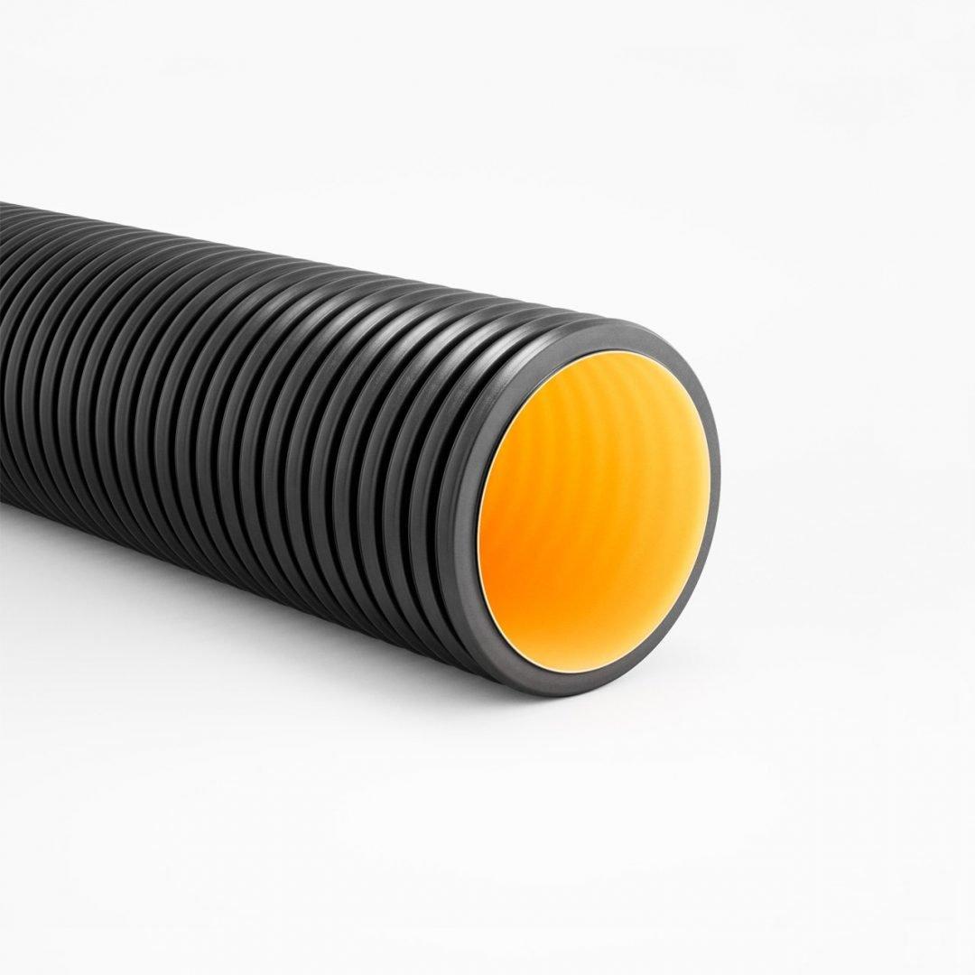 GEOSAN PE Tubo rígido de parede dupla estruturada