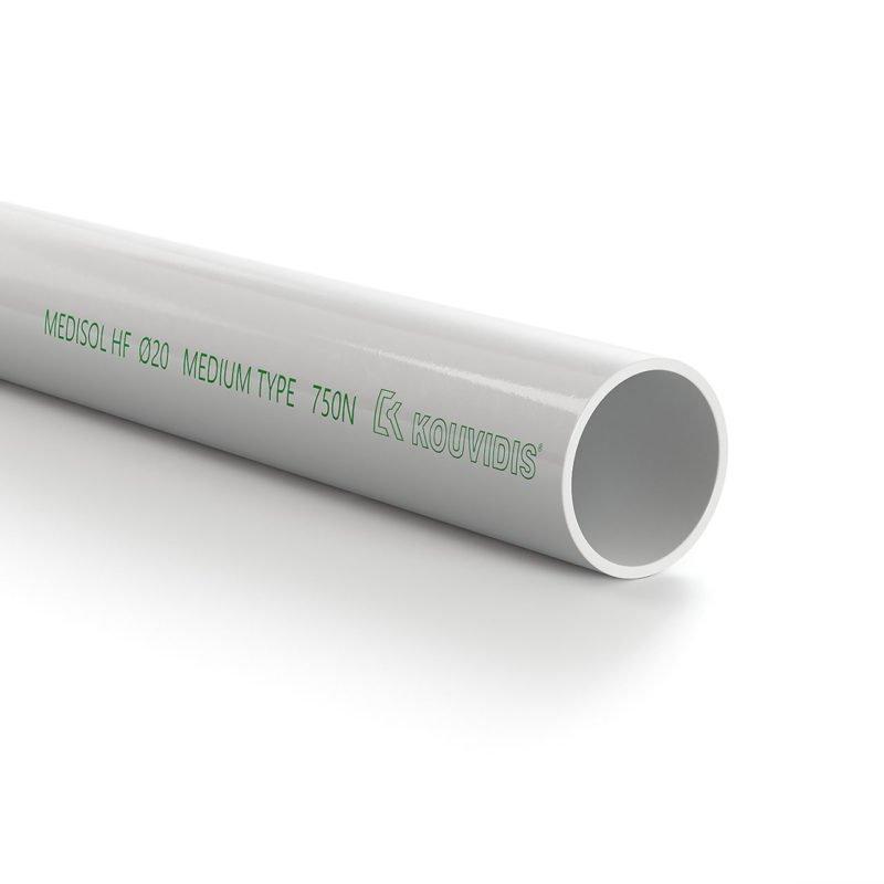 MEDISOL HF tubo rígido livre de halogéneos