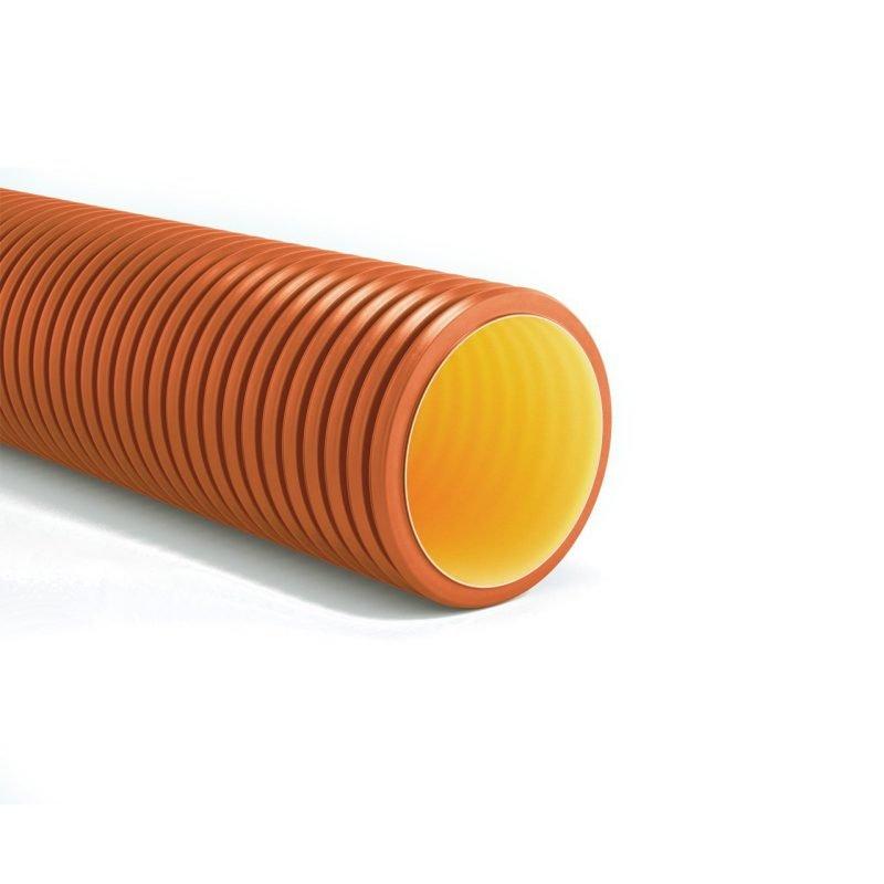 GEOSAN PP Tubo rígido de parede dupla estruturada