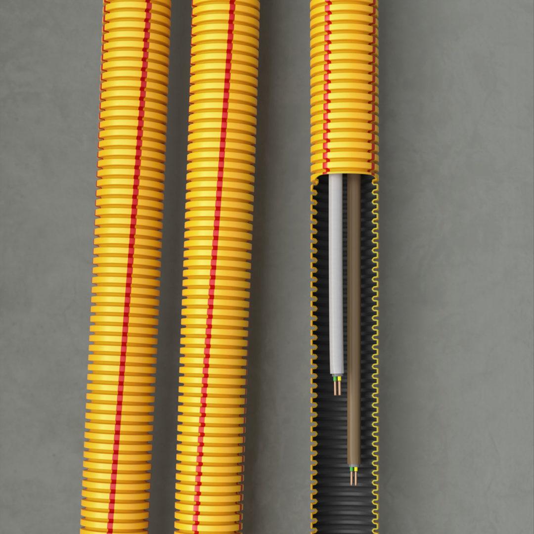 SUPERFLEX PLUS 3-layer conduit